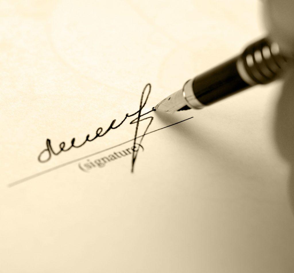 Приказ на право подписи первичных документов – бланк и образец заполнения
