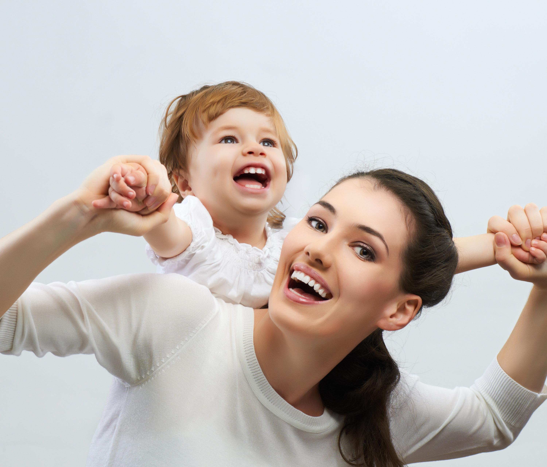 ребенок и мать фото